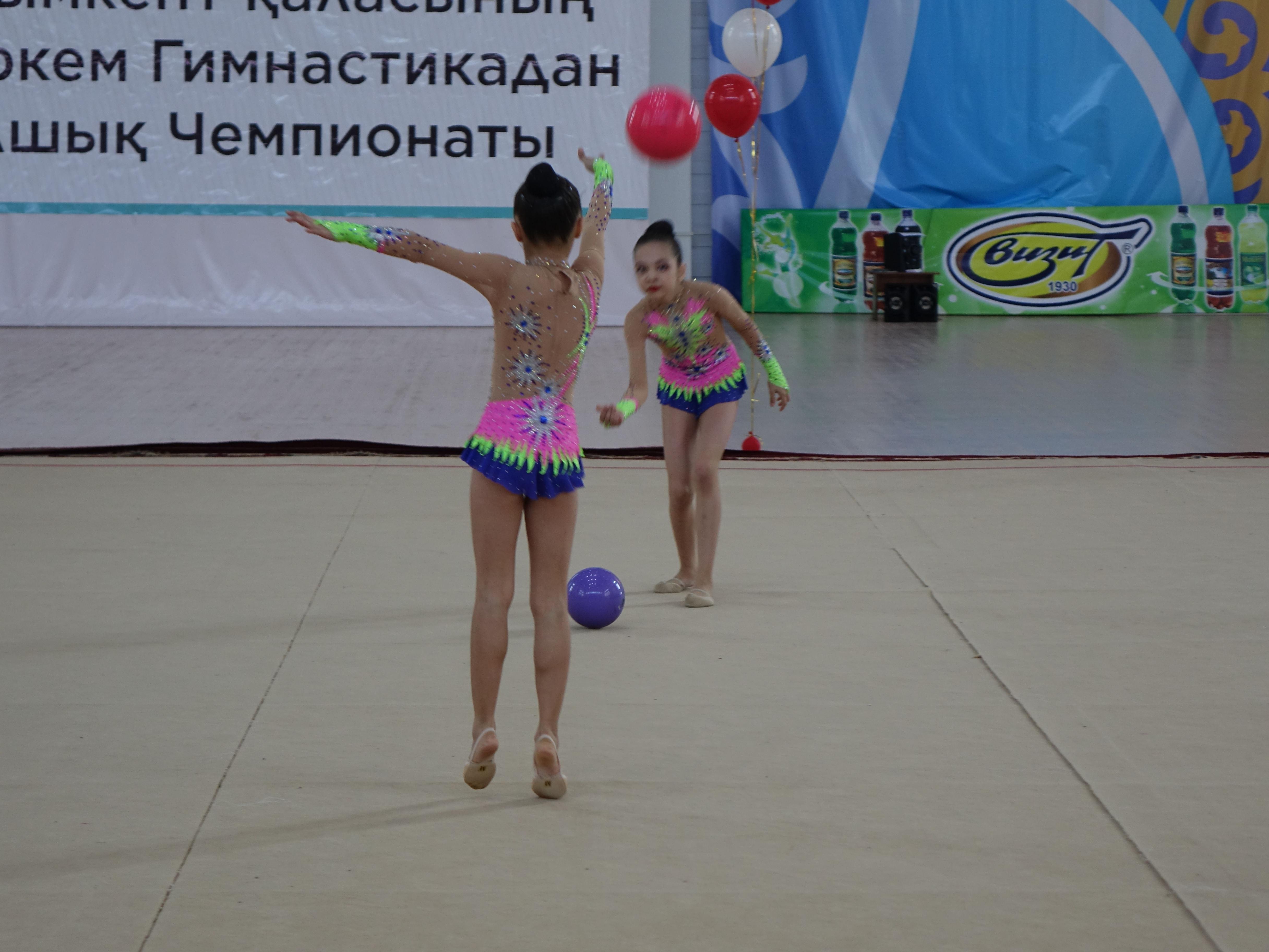 Шымкентте көркем гимнастикадан ашық турнир басталды