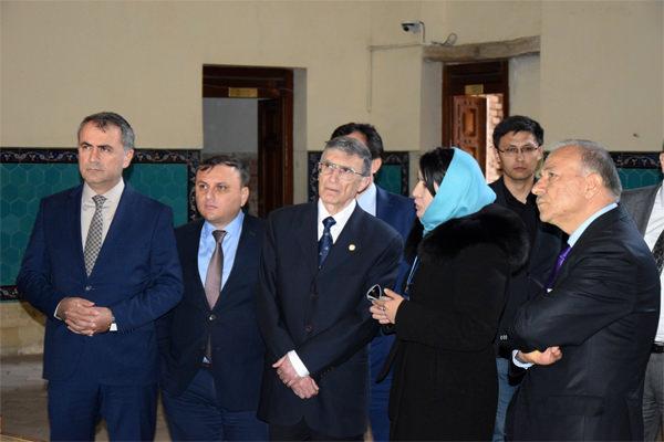 Түркістанға Нобель сыйлығының иегері, профессор Азиз Санжар келді