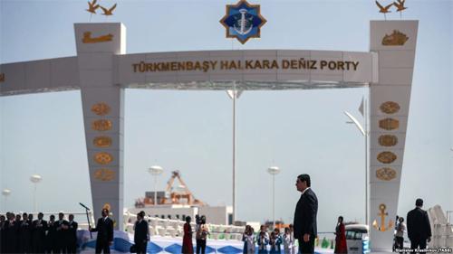 Түркіменстан Каспий теңізінде жаңа порт ашты