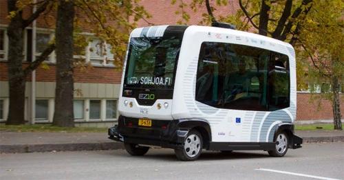 Хельсинкиде өзін – өзі басқаратын автобустар пайда болды