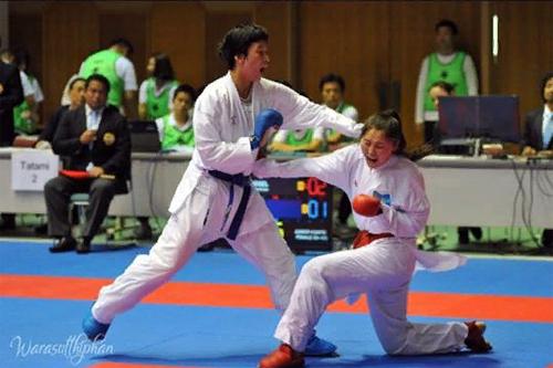 Әсел Қанай Азия Чемпионатының жүлдегері