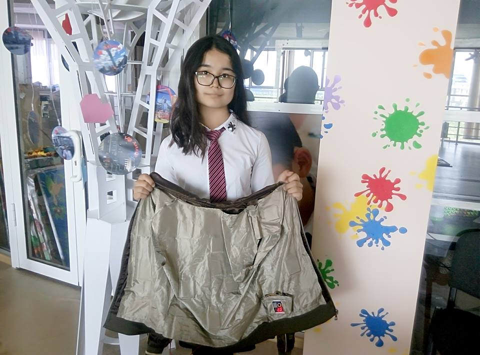 Шымкенттік оқушы бомбер күртеше жасады