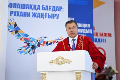 Жансейіт Түймебаев: Ұлт болып сақталып қалуда жастарға артылар жүк ауыр