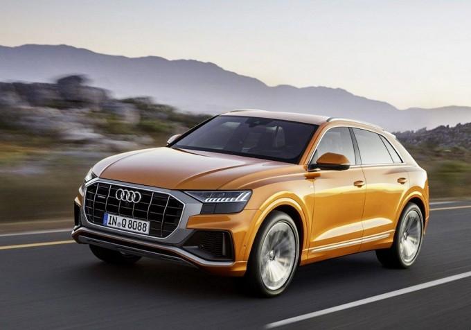 Audi Q8-нің ұзындығы 5 метрге жуық болады (фото)