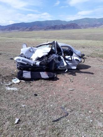 Алматы облысында жол апатынан бір үйдің 5 адамы қаза болды