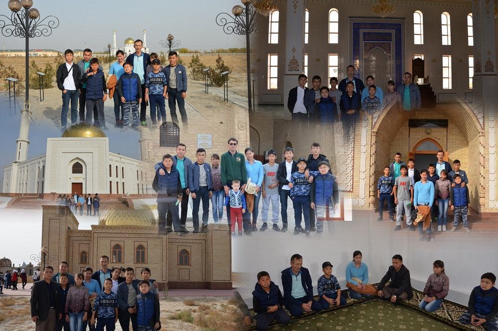 Түркістандық үздік оқушылар өлке табиғатын аралап, тарихымен танысты