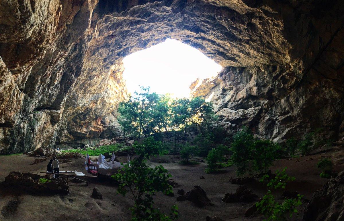 Оңтүстікте табиғат тастан қалаған қасиетті мекен бар