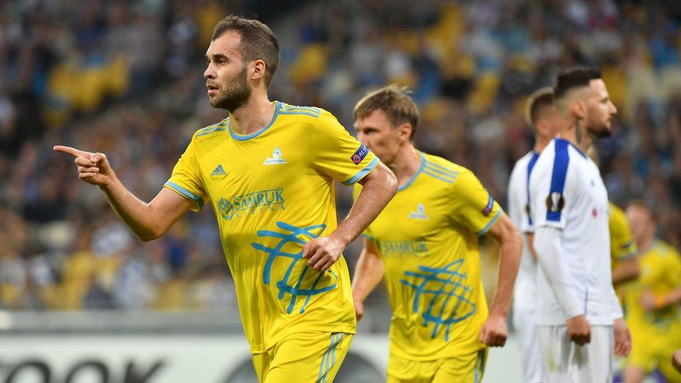«Динамо» (Киев) – «Астана» - 2:2