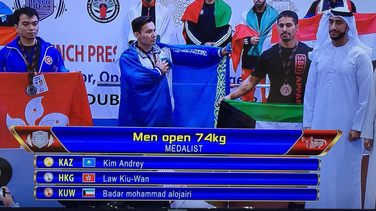 Түркістандық спортшылар Дубайда топ жарды