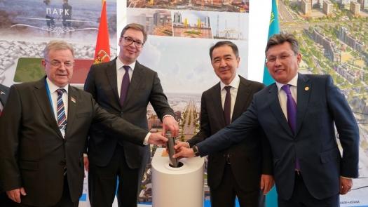 Астанада Қазақстан мен Сербия арасындағы достықты айғақтайтын тұрғын үй кешені салынады