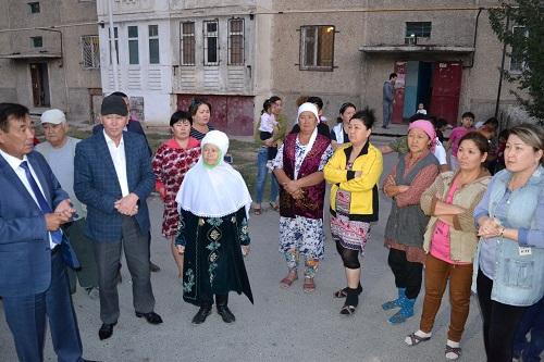 Түркістандағы көпқабатты тұрғын үйлер көгілдір отынмен  қамтылатын болды