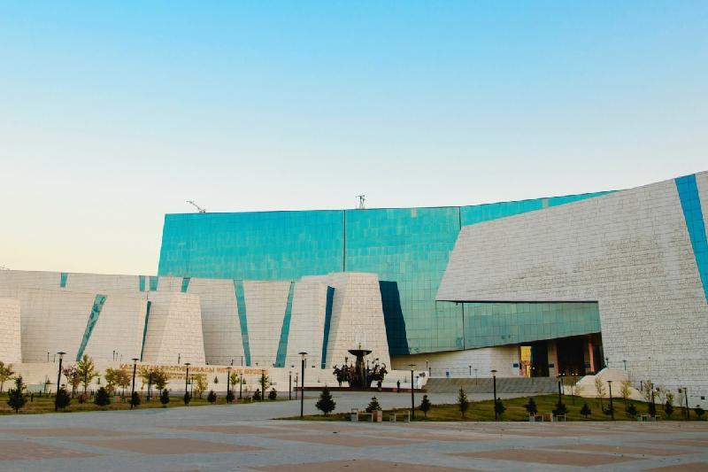 Ұлттық музей ғимаратынан өрт шықты
