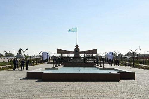 Түркістан: Созақ ауданының 90 жылдығына орай  24 нысна пайдалануға берілді
