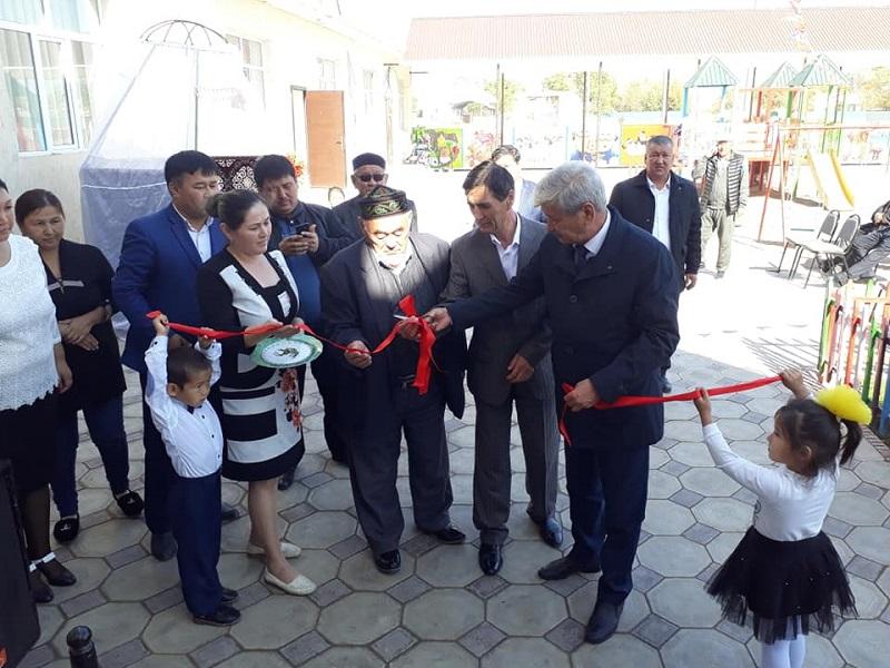 Жетісайда 125 орындық балабақша пайдалануға берілді