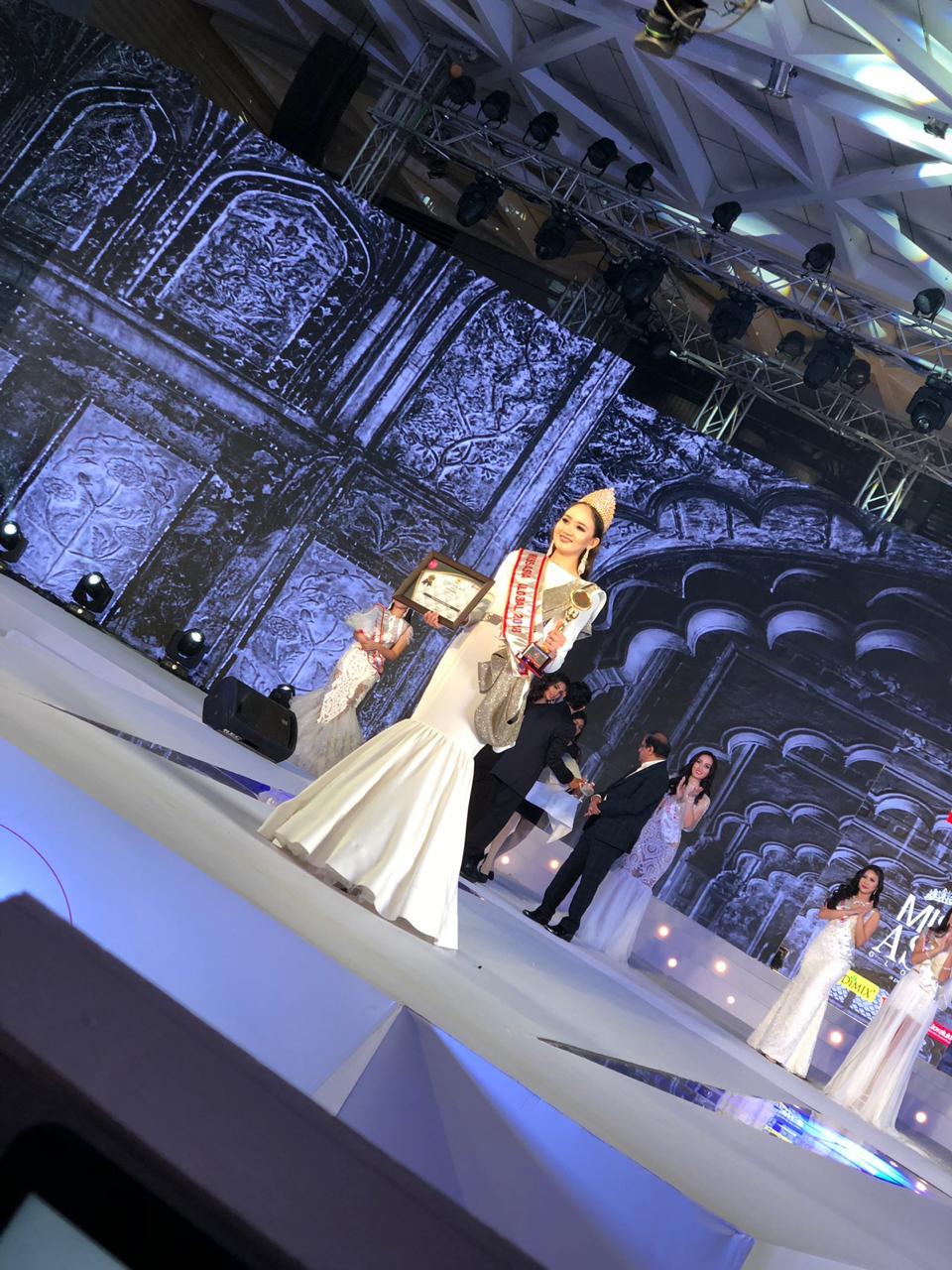 Алматылық студент Miss Asia Global титулын жеңді