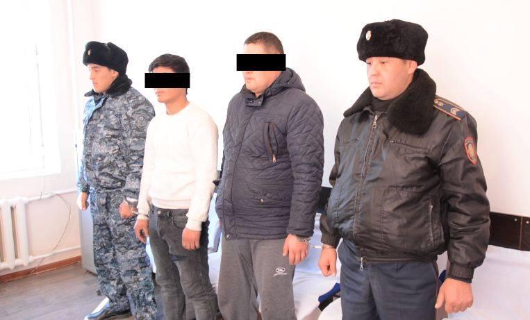 Түркістан облысында полицейлер мал ұрлығымен айналысқан қылмыстық топты құрықтады
