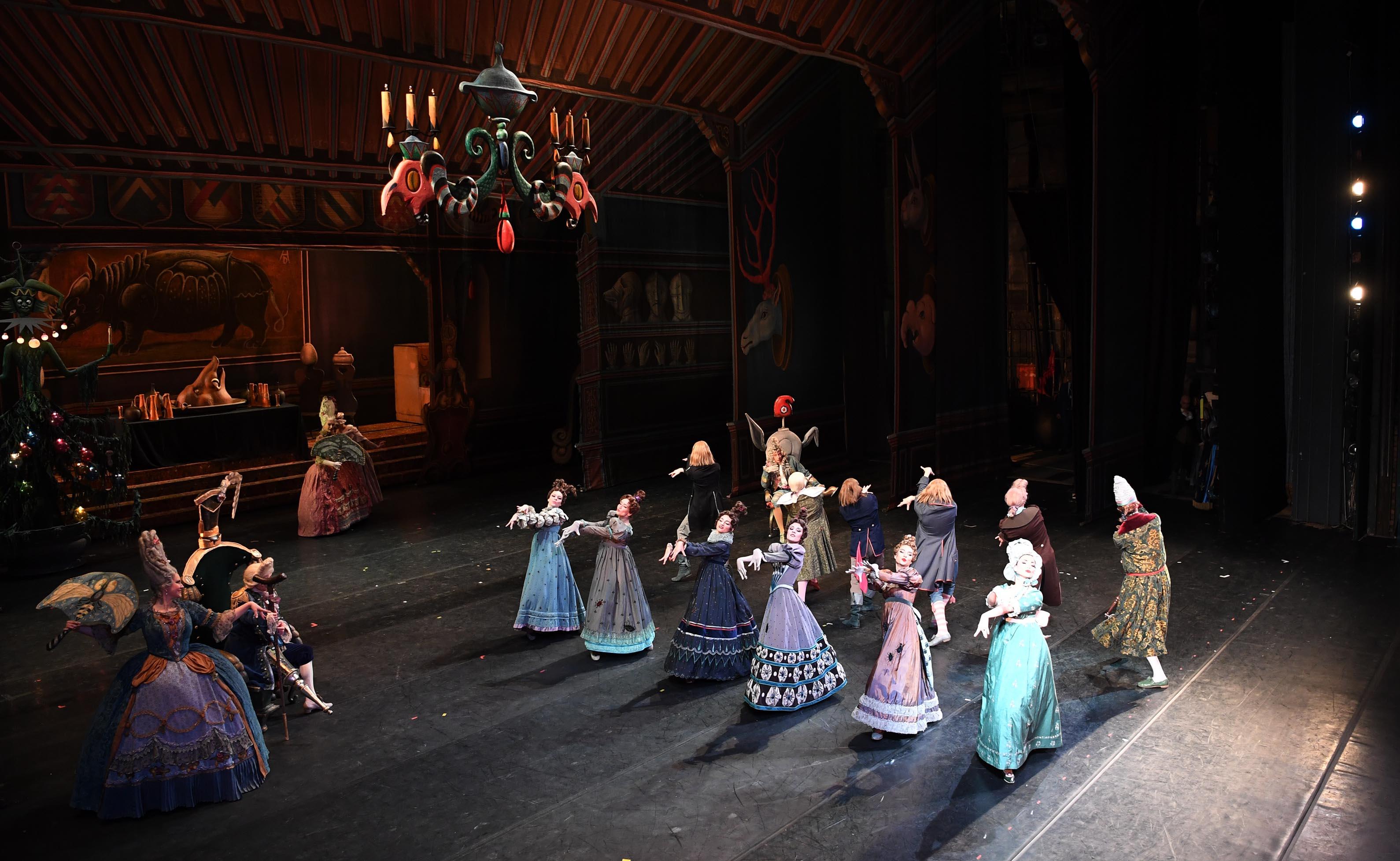 Мемлекет басшысы «Щелкунчик» балетін көрді