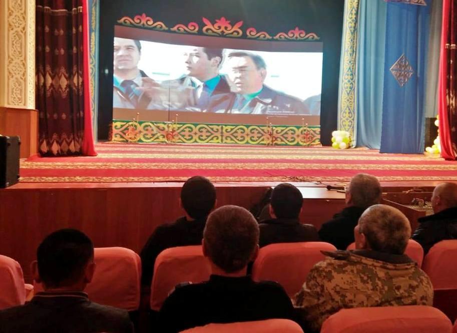 «Елбасы жолы. Астана» фильмі созақтықтардың көңілінен шықты