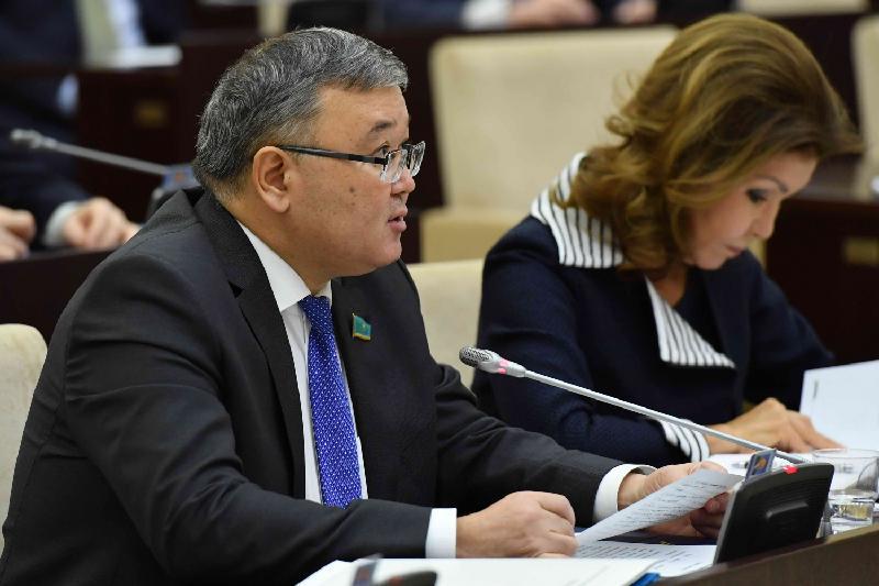 Депутаттар Түркістан облысының Ордабасы ауданында теміржол құрылысын ертерек бастауды сұрады