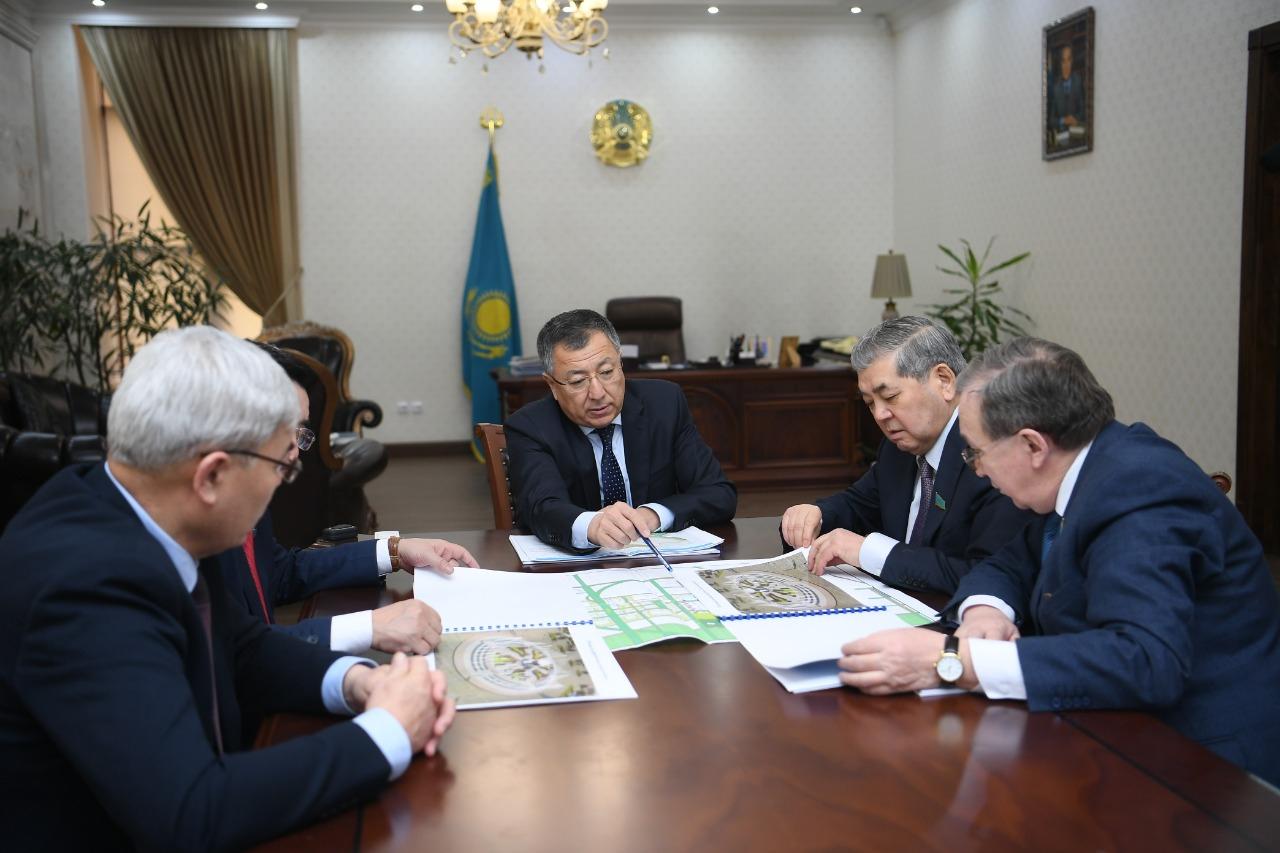 ТҮРКІСТАН: Ж.Түймебаев ҚР Парламенті мәжілісінің депутаттарымен кездесті