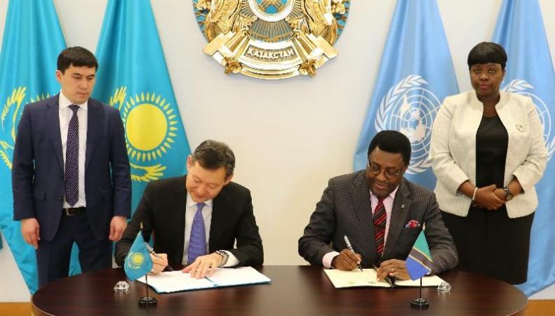 Қазақстан Танзаниямен дипломатиялық қатынастар орнатты