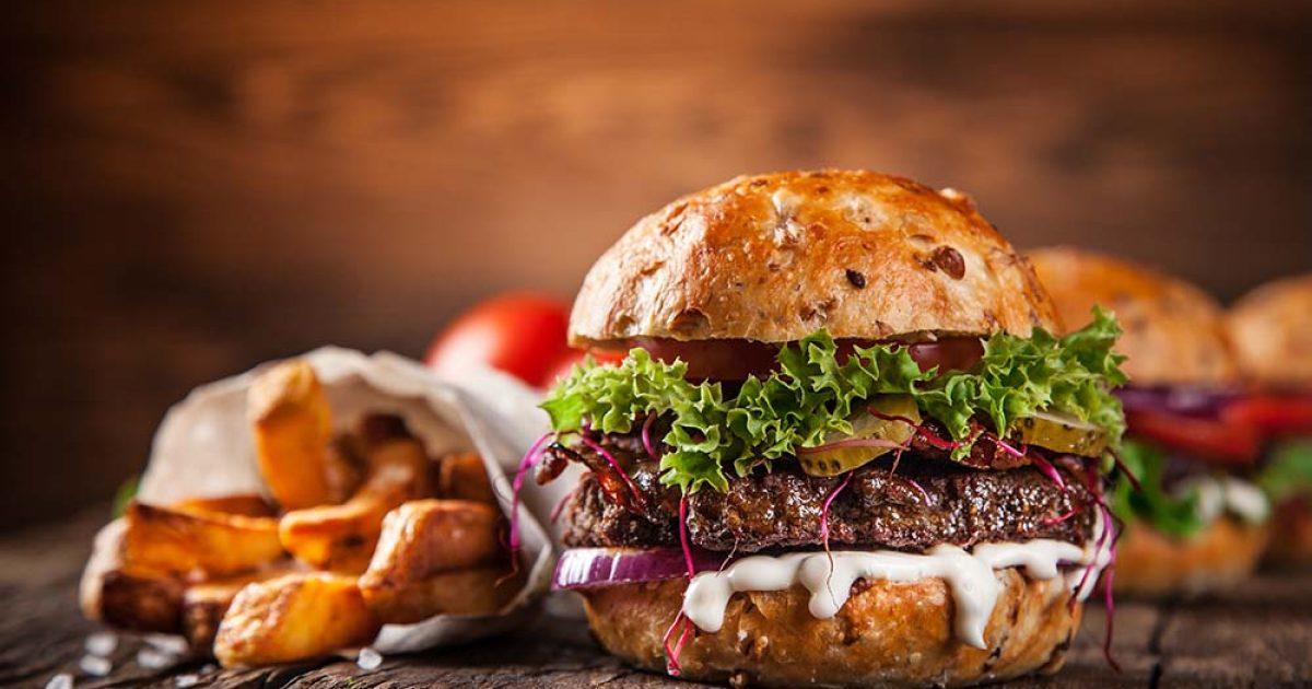 Ыстық гамбургер пісіріп көрдіңіз бе?