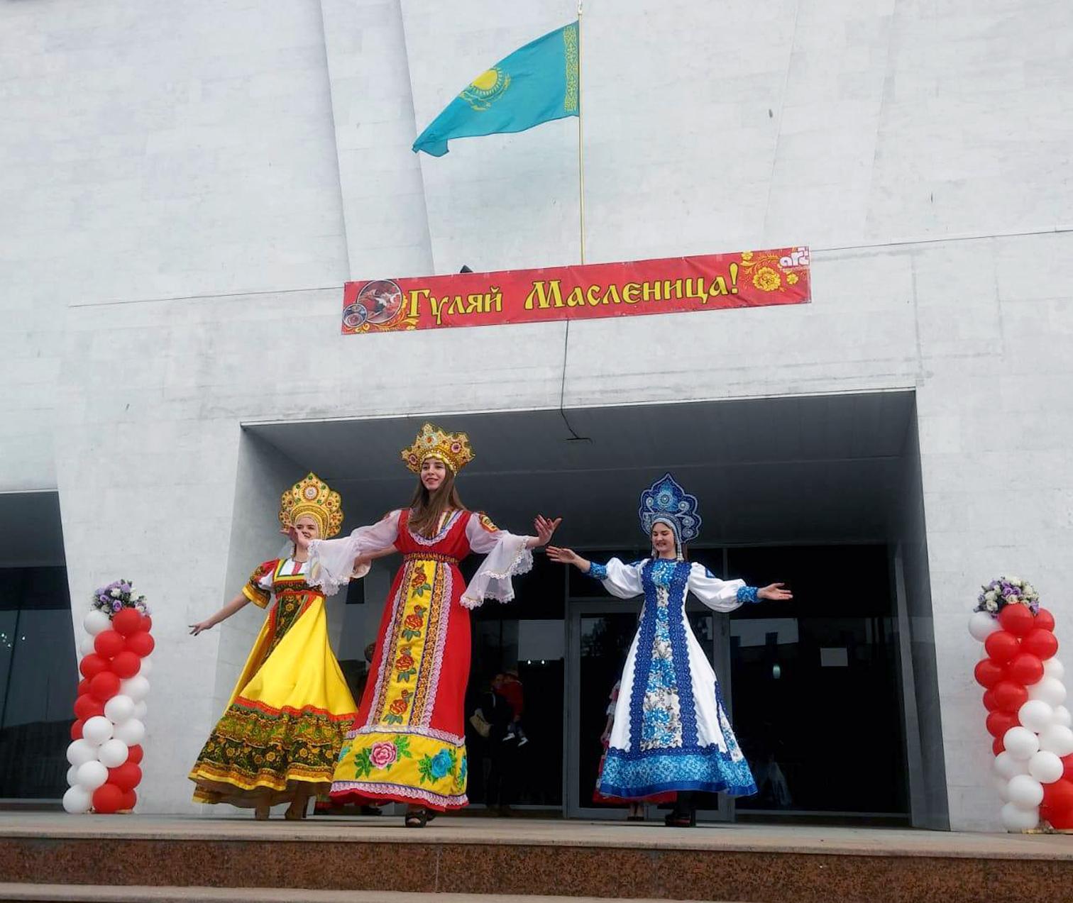 ШЫМКЕНТ: Славян этномәдени орталығы Масленица мерекесін тойлады