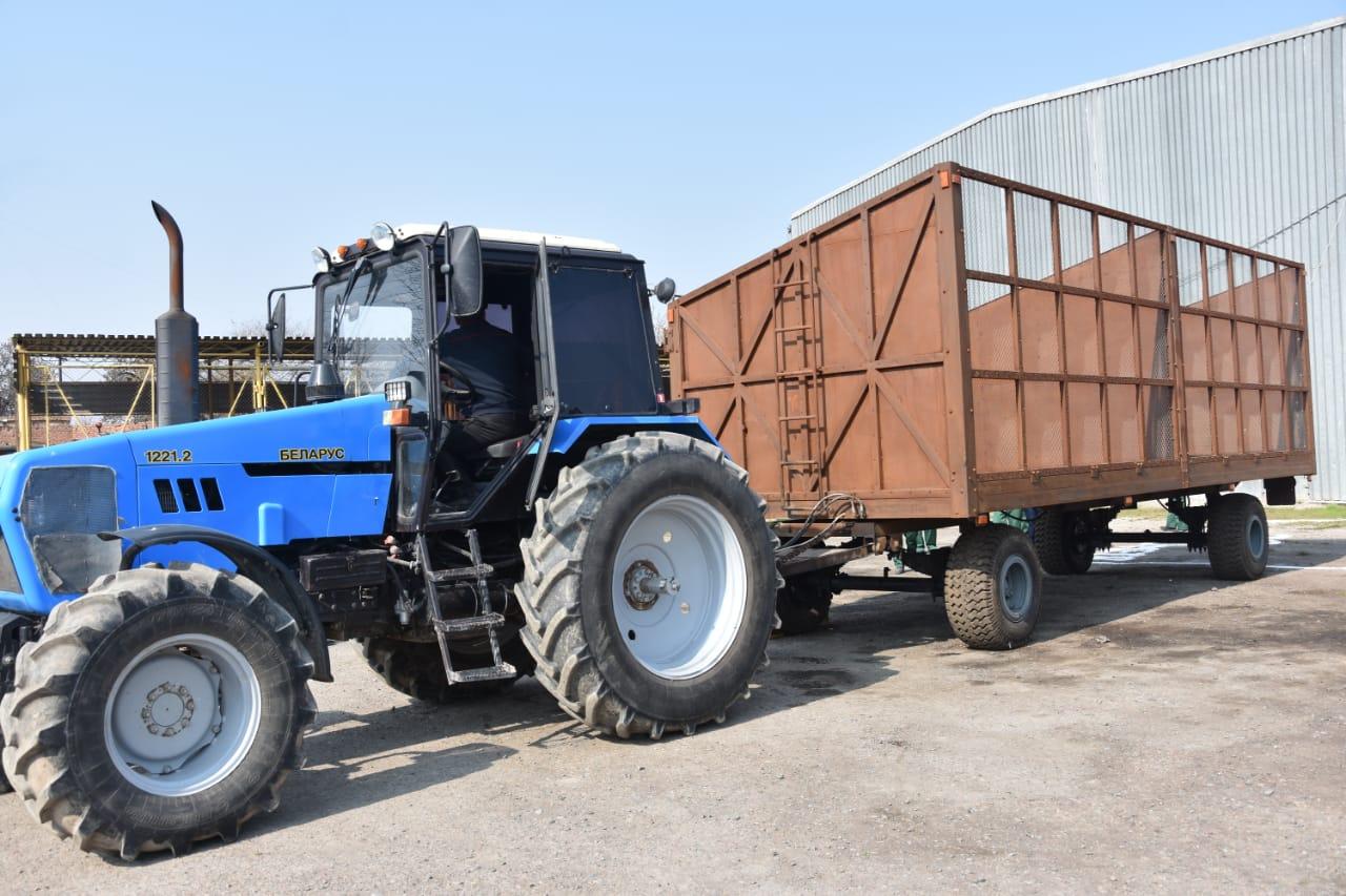 ТҮРКІСТАН: Мақтааралда трактордың тіркемесін шығаратын шағын зауыт ашылды