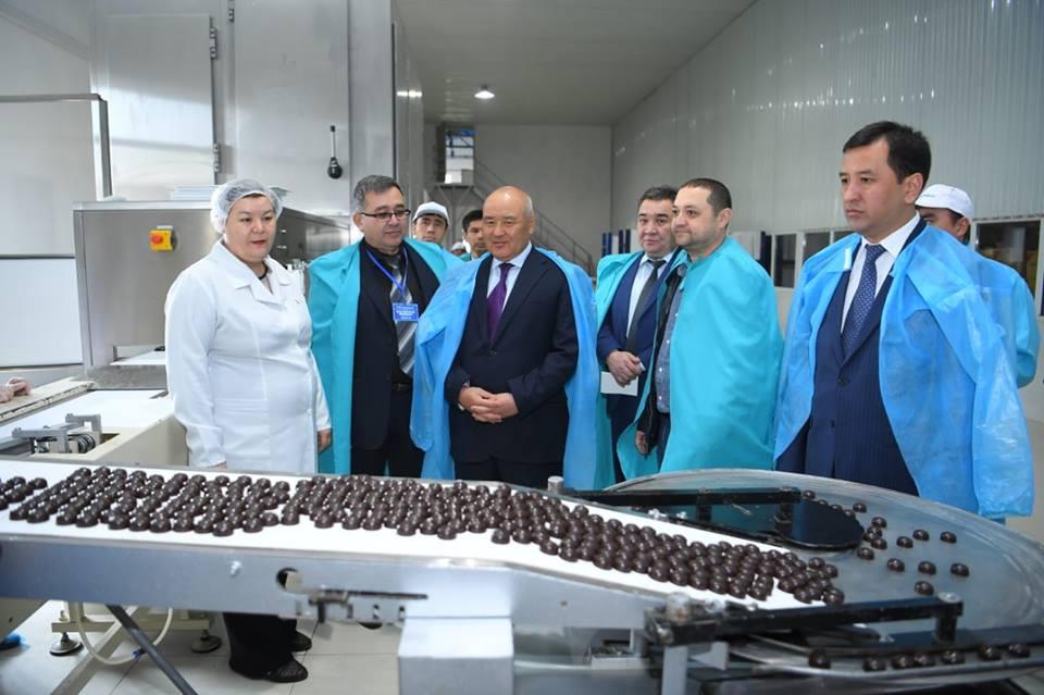 ТҮРКІСТАН: Төлебиде 1100 тонна шоколад өнімі өндіріледі