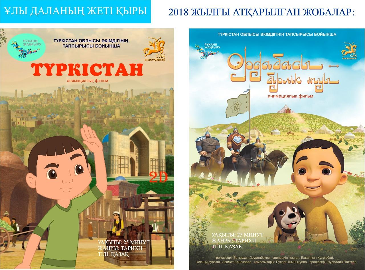 ТҮРКІСТАН: Көркем және анимациялық фильмдердің орталығы