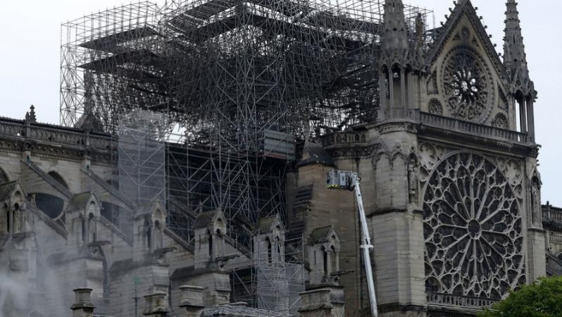 Париж Құдай Ана соборының өртену себебі анықталды