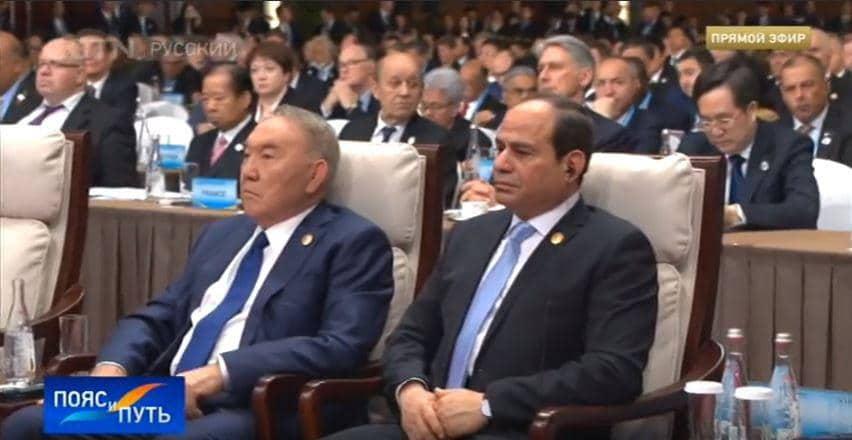 Қытайда Назарбаев пен Путинді бір қатарға отырғызып, форумның құрметті қонағы етті (фото)