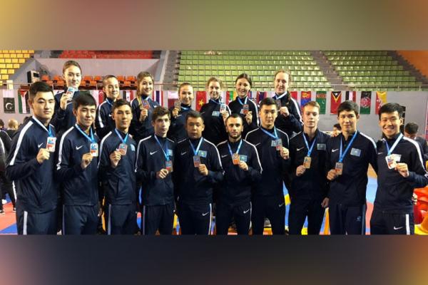 Еліміз каратеден Азия чемпионатында 15 медаль еншіледі