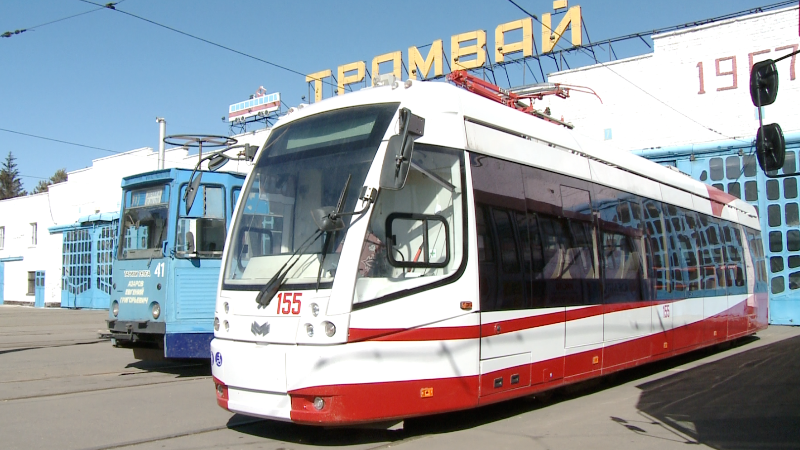 Белорусь елінен Павлодарға жаңа трамвайлар әкелінді