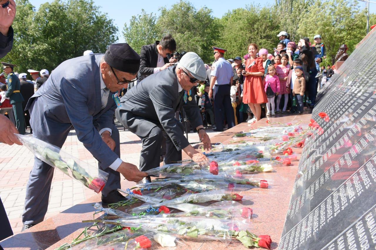 Түркістанда Ұлы жеңістің 74 жылдығына арналған «Ер есімі – ел есінде» атты шара өтті
