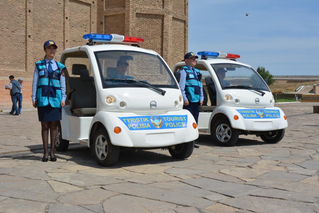 Түркістан облысында туристік полиция құрылды