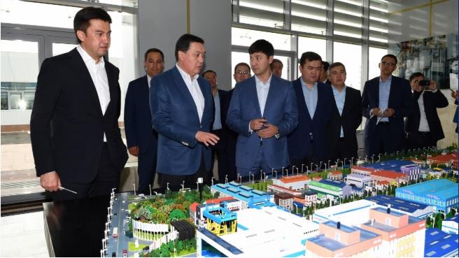 Премьер-Министр Асқар Мамин үшінші мегаполис төңірегіндегі инфрақұрылымдық және әлеуметтік жобалардың іске асырылуын тексерді