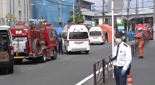 Жапонияда қаскөй 19 адамды пышақпен жарақаттаған