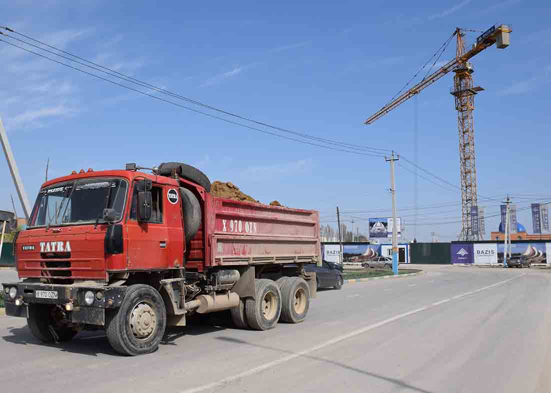 Түркістанды түлетуде жергілікті құрылыс материалдарының үлесі мол