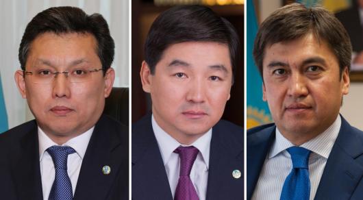 Әбдірахымов, Байбек және Сұлтанов жаңа әкімдер тағайындалғанға дейін өз міндеттерін атқарады