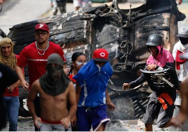 Венесуэлада дәрігерлер жаппай ереуілге шықты