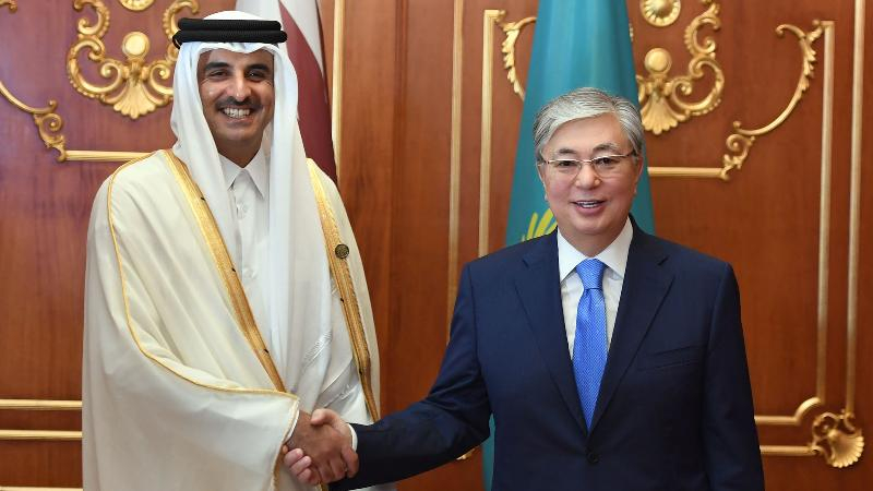 Тоқаев Катар әмірімен кездесті