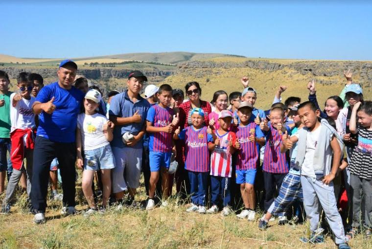 Арыстық балалар «Oтырар» жазғы сауықтыру лагерінде демалуда