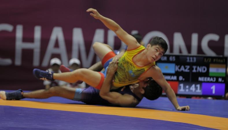 Азия чемпионаты: Қазақстандықтар үш медаль алды