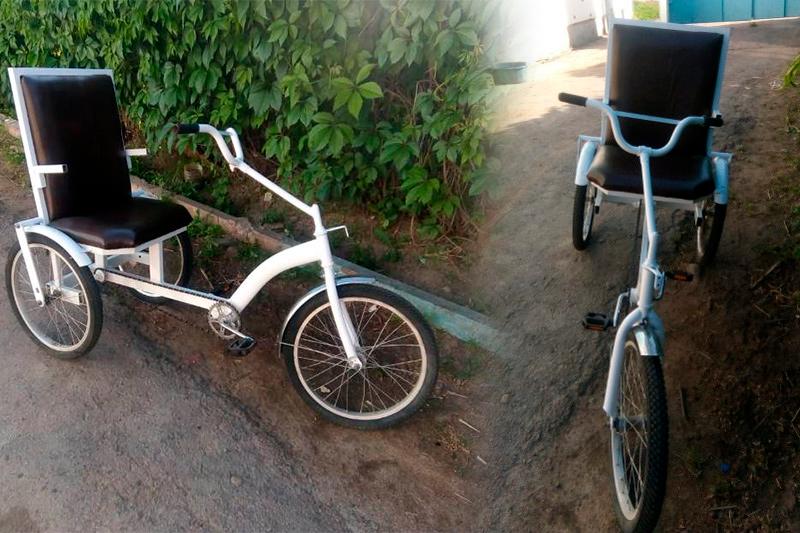 Жамбылдық өнертапқыш мүгедектерге ыңғайлы велосипед түрін жасады