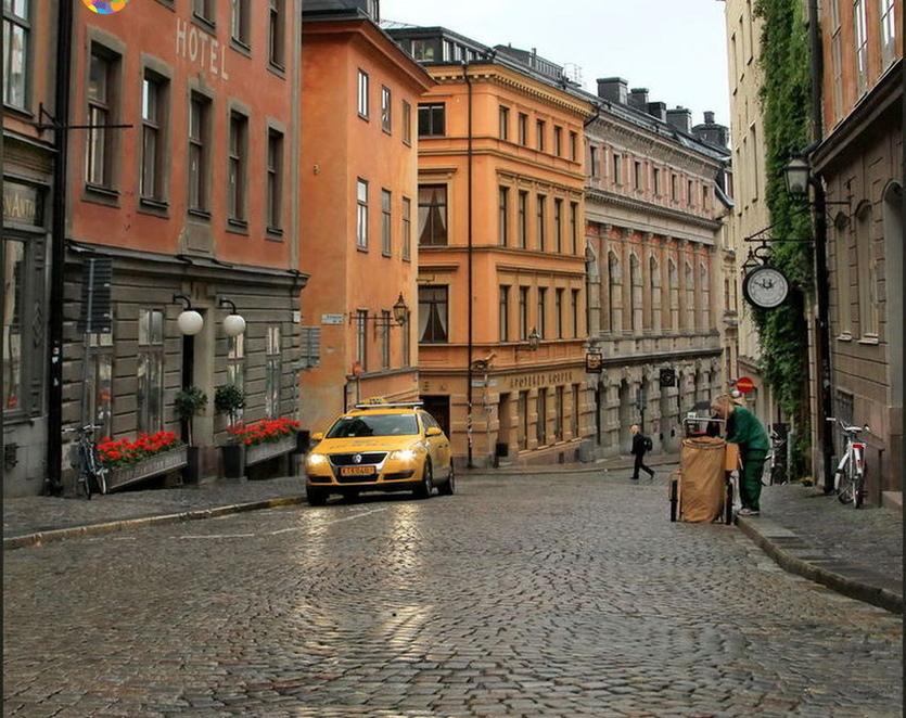 Швеция қоқысқа зәру болып отыр