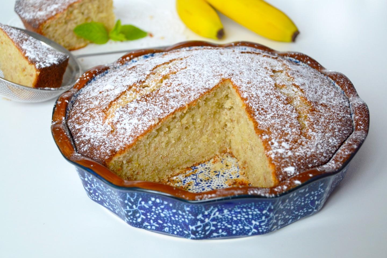 Банановый кекс простой рецепт с фото