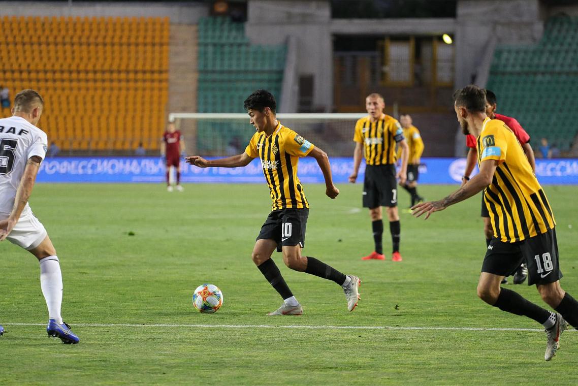 Еркебұлан Сейдахмет «Қайрат» сапындағы алғашқы голын соқты (видео)