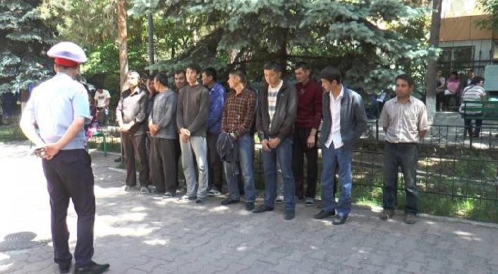 Алматыда 800-ге жуық шетелдік ұсталды