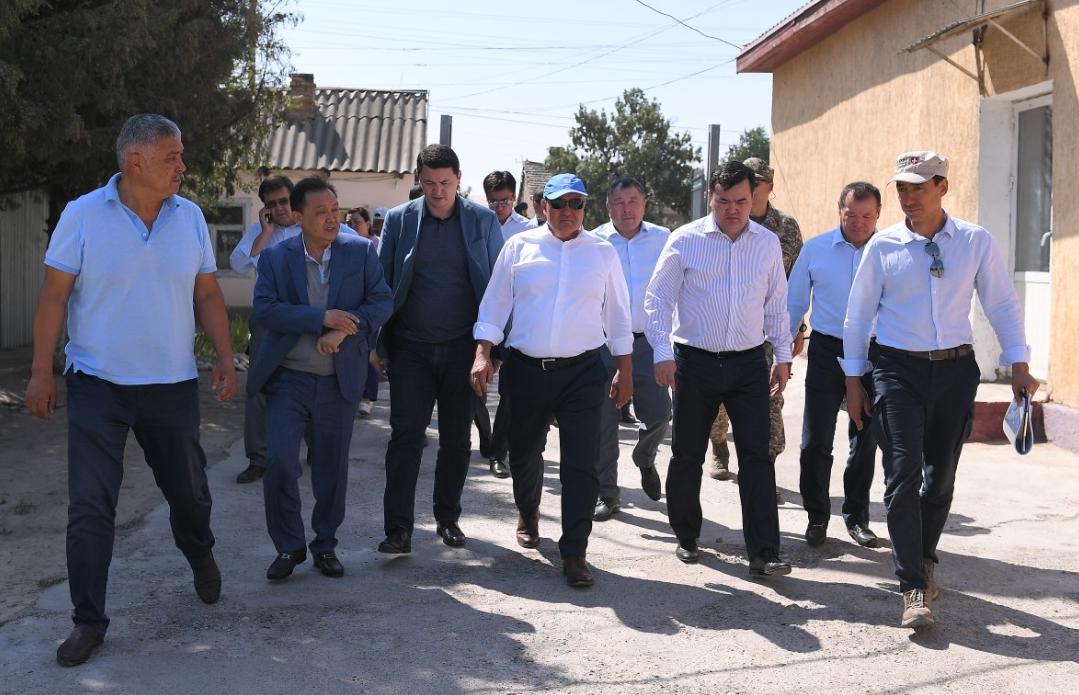 ҚР вице-премьері Жеңіс Қасымбек Арыс қаласына келді